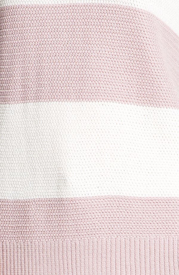Alternate Image 4  - St. John Yellow Label Stripe Ottoman Knit Sweater