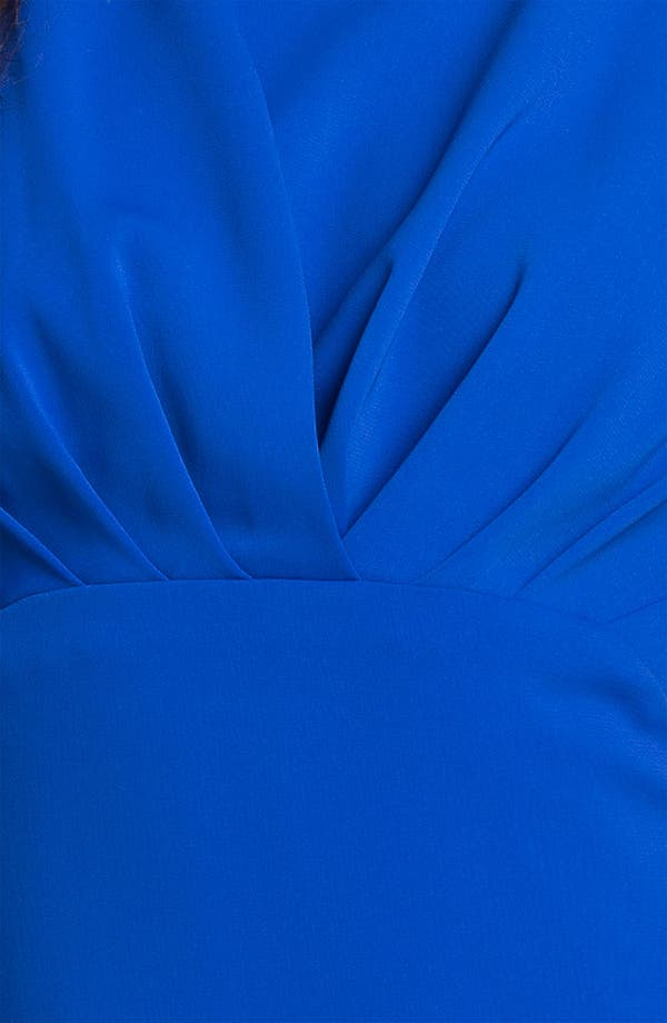 Alternate Image 3  - Donna Ricco Pleat Bodice Sheath Dress