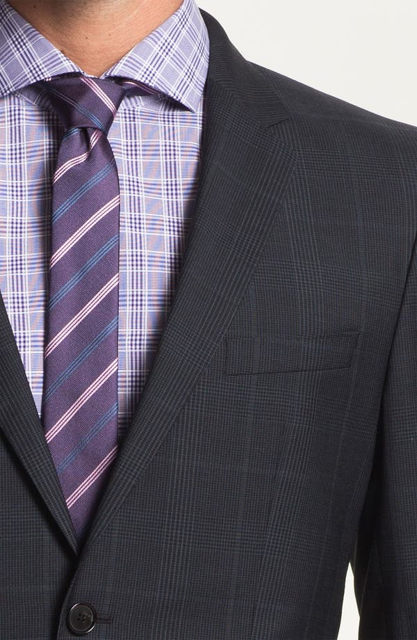 Alternate Image 6  - BOSS Black 'Jam/Sharp' Trim Fit Plaid Suit
