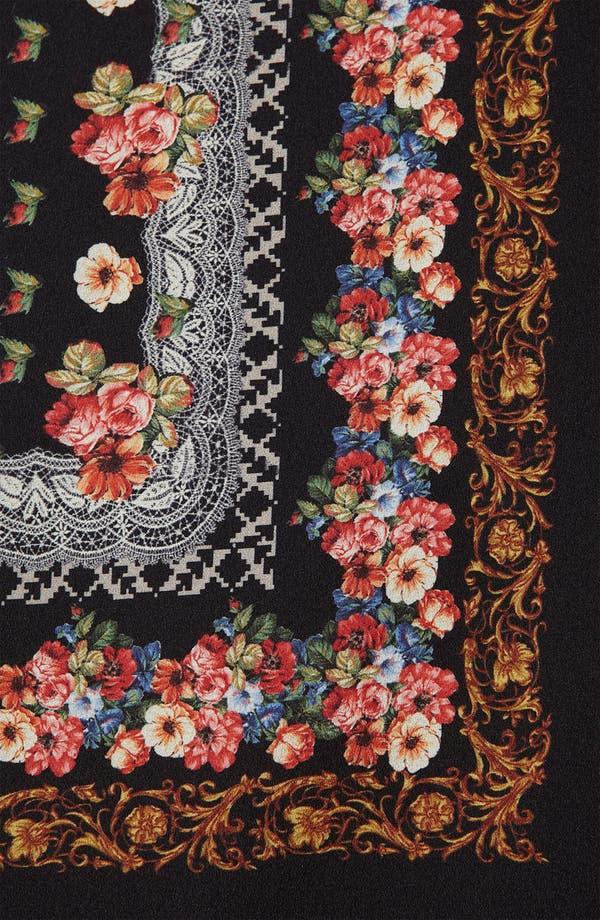 Alternate Image 3  - Topshop Scarf Print Sleeveless Shirt
