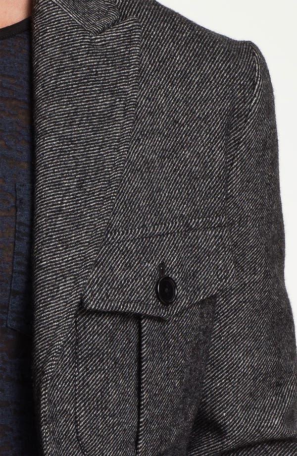 Alternate Image 3  - John Varvatos Star USA 'Military Luxe' Wool Blend Jacket