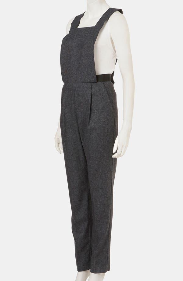 Alternate Image 4  - Topshop 'Amber' Tweed Jumpsuit