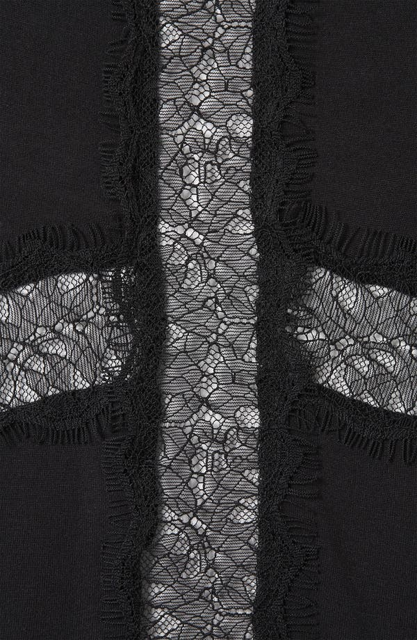 Alternate Image 3  - Topshop 'Lace Cross' Tee