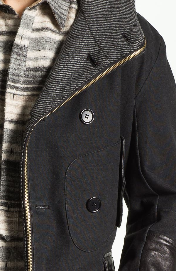 Alternate Image 4  - PRPS Double Breasted Convertible Coat