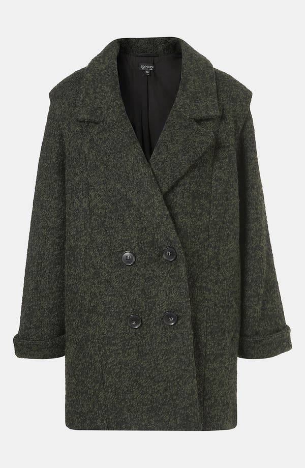 Alternate Image 1 Selected - Topshop 'Tex' Bouclé Coat