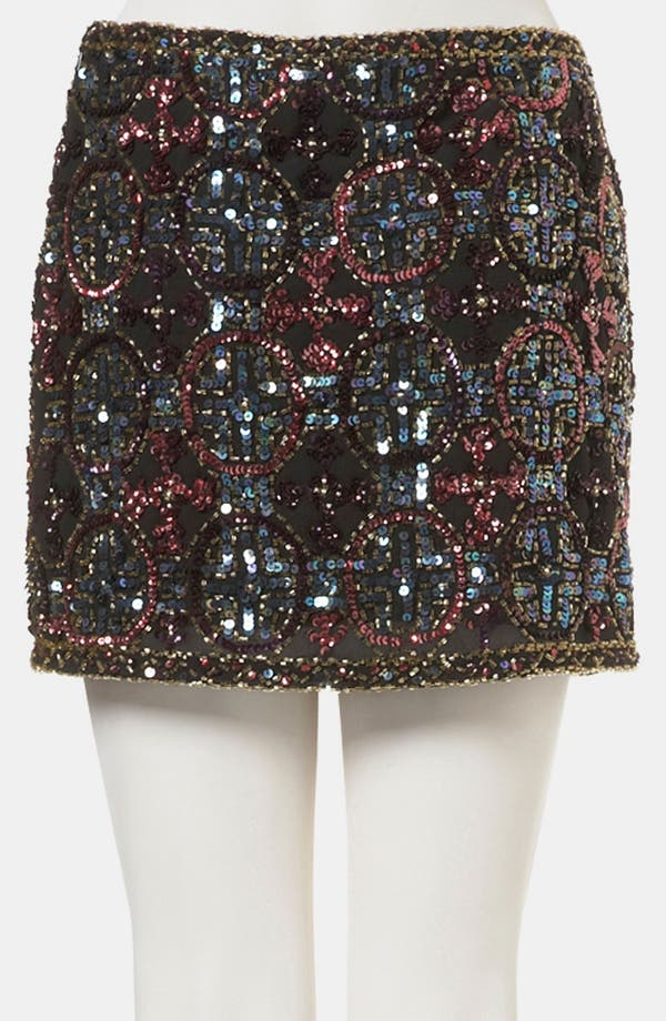 Alternate Image 2  - Topshop Embellished Miniskirt