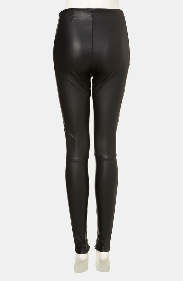 Alternate Image 2  - Topshop 'Gabriella' Stretch Faux Leather Pants