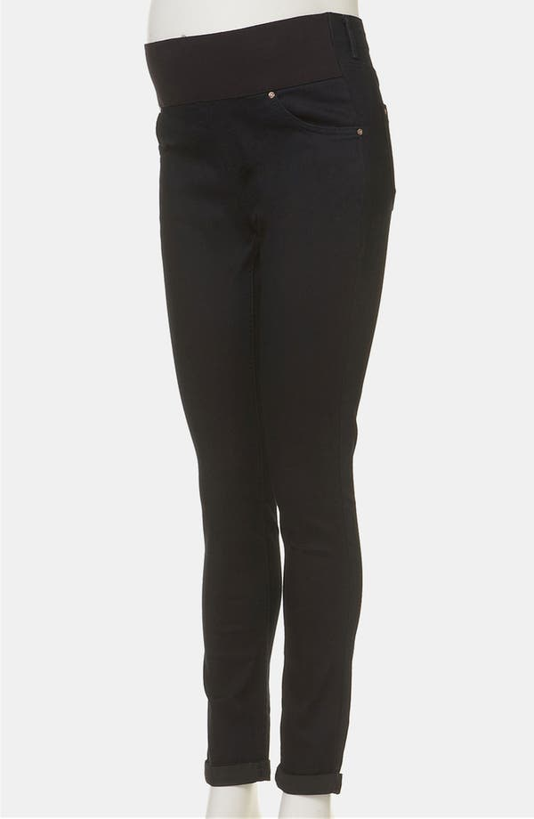 Alternate Image 2  - Topshop 'Leigh' Maternity Jeans