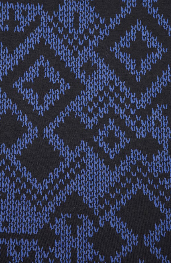 Alternate Image 3  - Topshop Fair Isle Jersey Dress