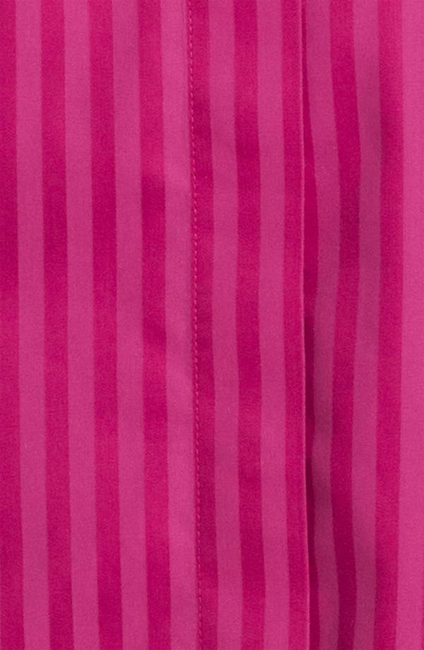 Alternate Image 3  - Foxcroft Satin Stripe Shirt