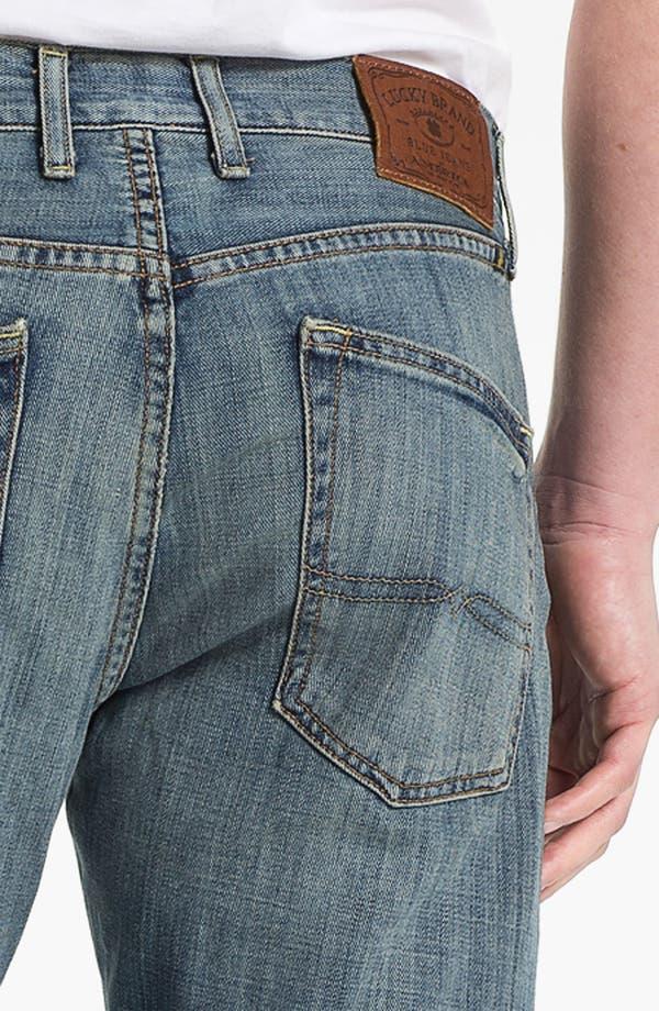 Alternate Image 4  - Lucky Brand '221 Original' Straight Leg Jeans (Quartzite)