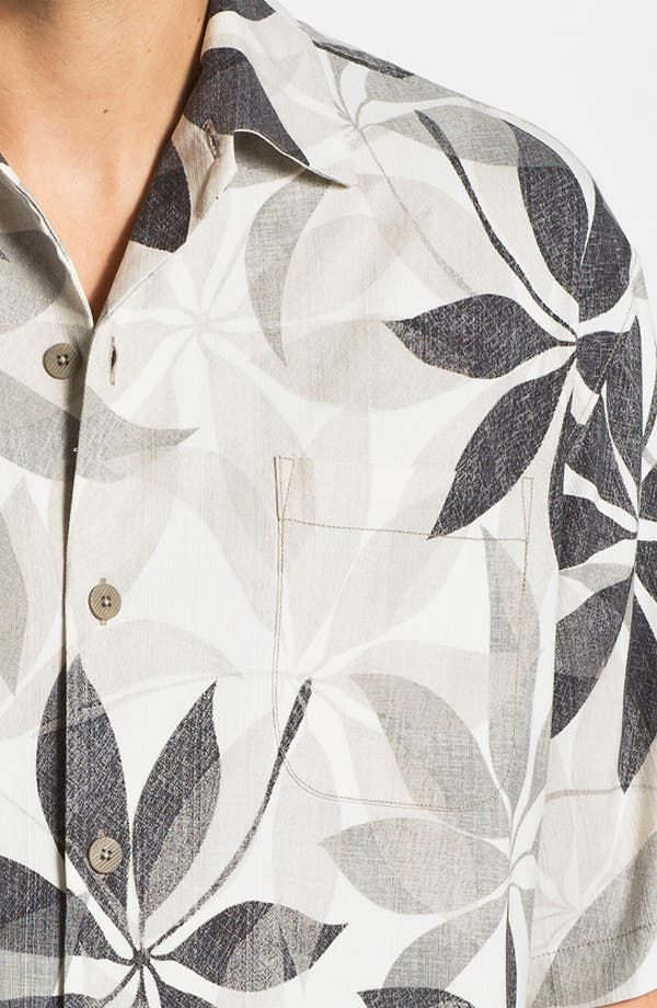 Alternate Image 2  - Tommy Bahama 'Petal Paradise' Silk Campshirt