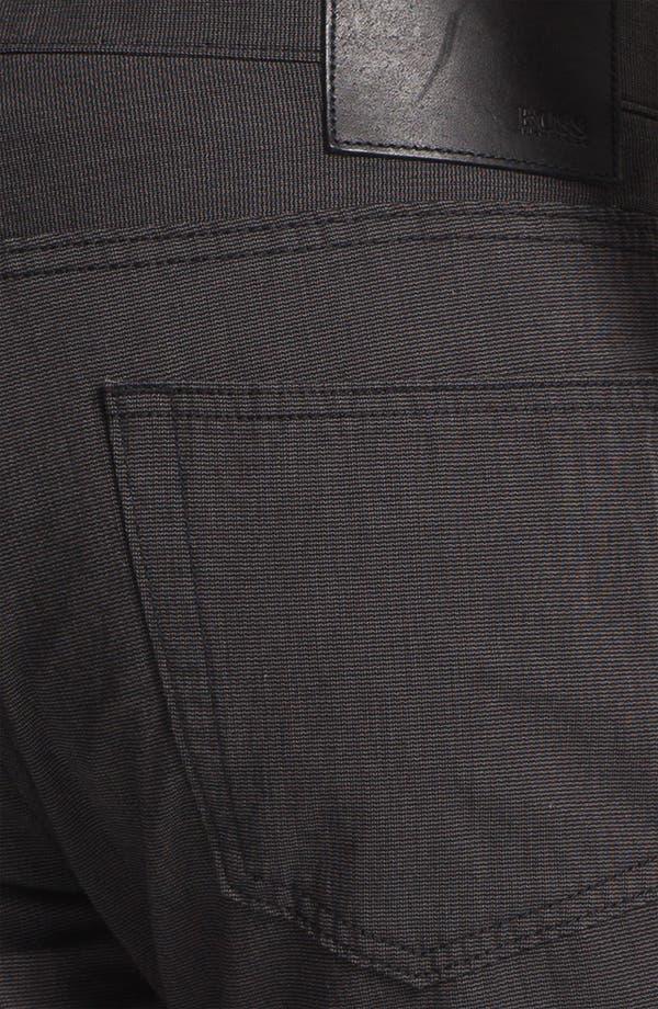 Alternate Image 3  - BOSS Black 'Kansas' Houndstooth Pants