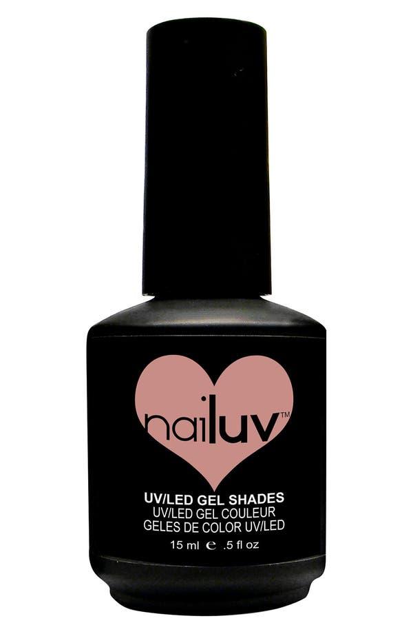 Alternate Image 1 Selected - NaiLuv™ 'Hunkielicious' Gel Nail Polish