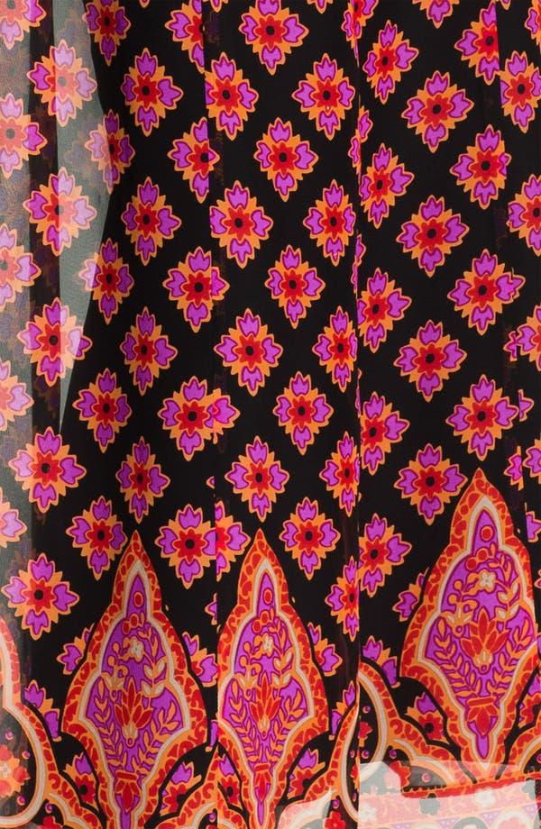 Alternate Image 3  - Nanette Lepore 'Electrifying' Silk Maxi Dress