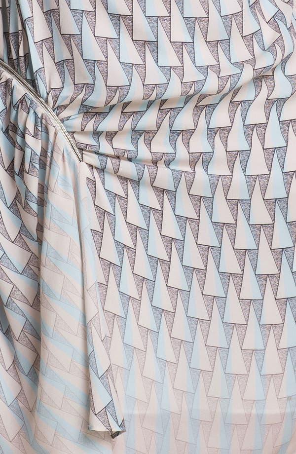 Alternate Image 3  - Rebecca Minkoff 'Cheer' Zip Detail Silk Dress