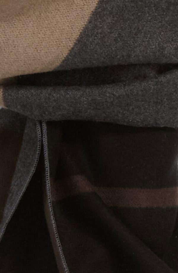 Alternate Image 2  - Chelsey Colorblock Silk Scarf