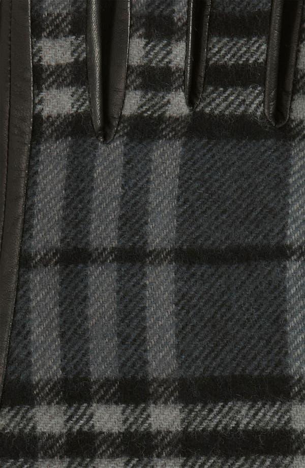 Alternate Image 2  - Burberry 'Luca' Check Gloves