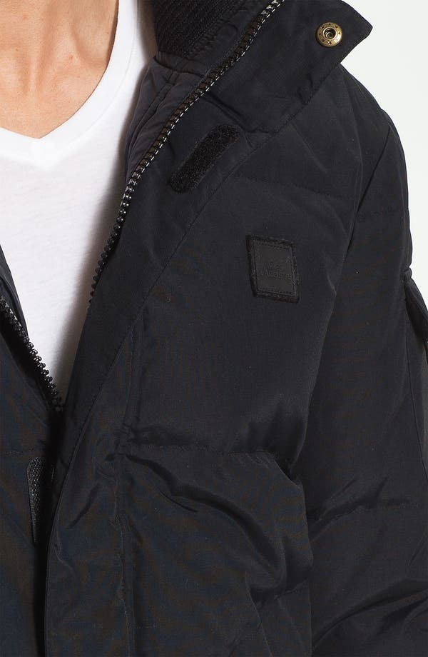 Alternate Image 3  - Lacoste Quilted Bomber Jacket