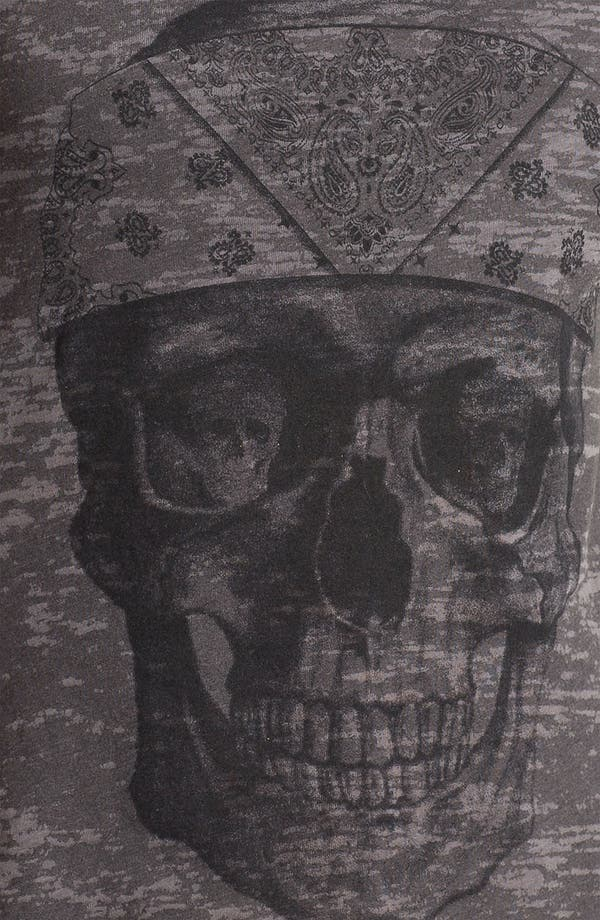 Alternate Image 3  - Project Social T Distressed Skull Graphic Tank (Juniors)
