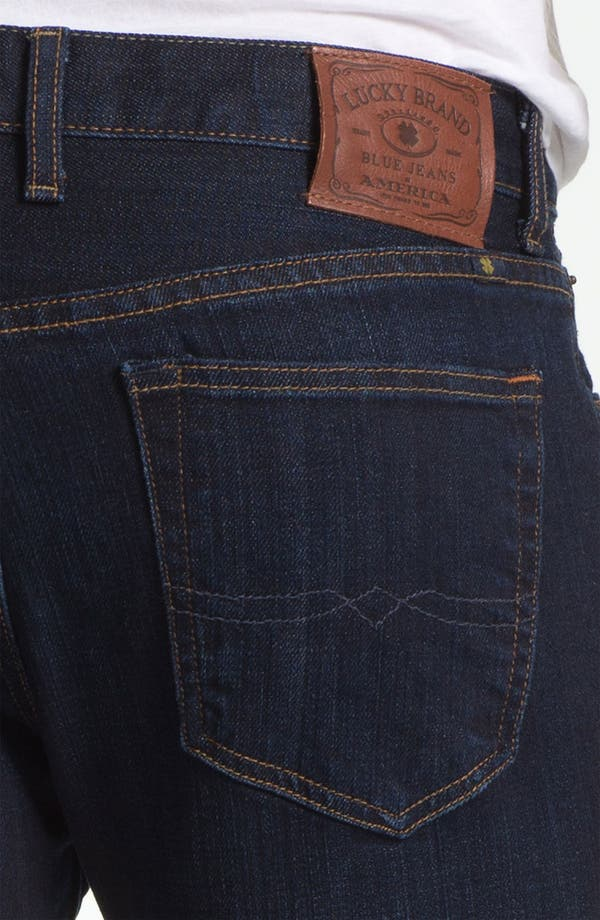 Alternate Image 4  - Lucky Brand 'Dean' Straight Leg Jeans (Dark Stevie) (Online Only)