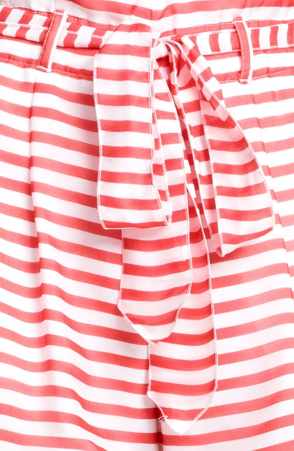 Alternate Image 3  - Armani Collezioni Nautical Stripe Shorts