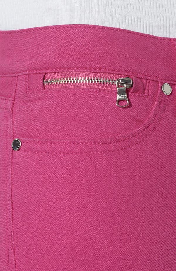 Alternate Image 3  - Lauren Ralph Lauren Slim Straight Leg Colored Jeans (Plus)