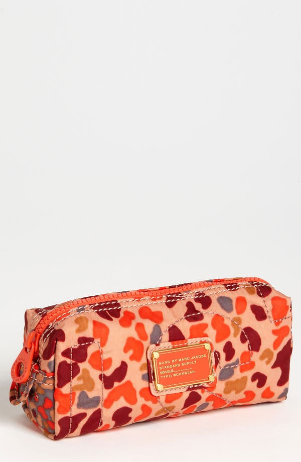Alternate Image 1 Selected - MARC BY MARC JACOBS 'Pretty Nylon - Camo Garden' Cosmetics Case