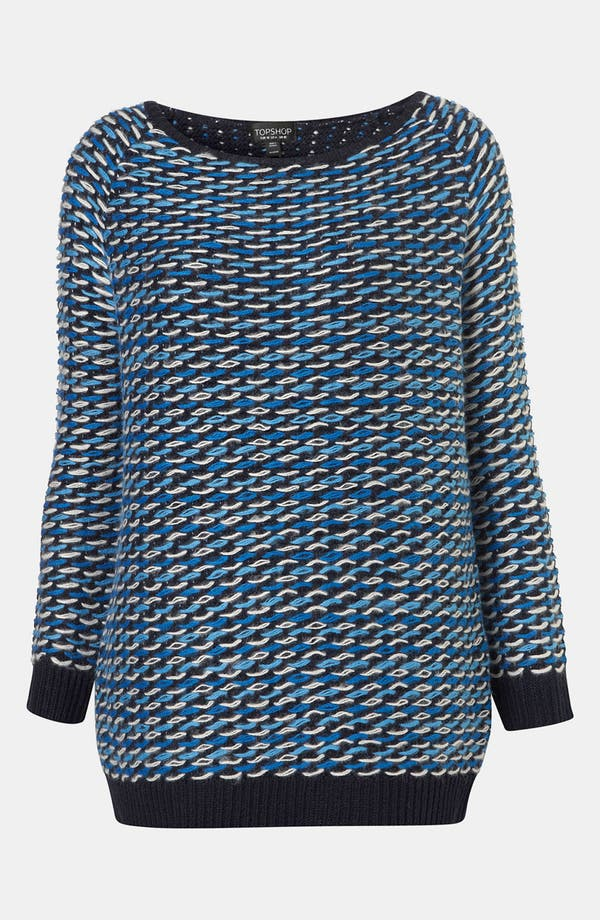 Alternate Image 1 Selected - Topshop Loop Stitch Sweater
