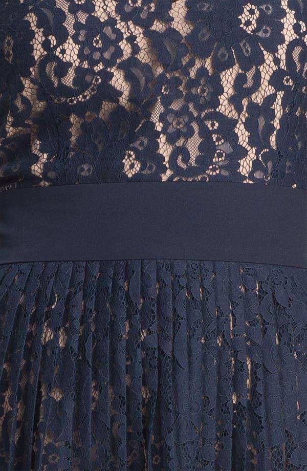 Alternate Image 4  - Eliza J Lace Fit & Flare Dress