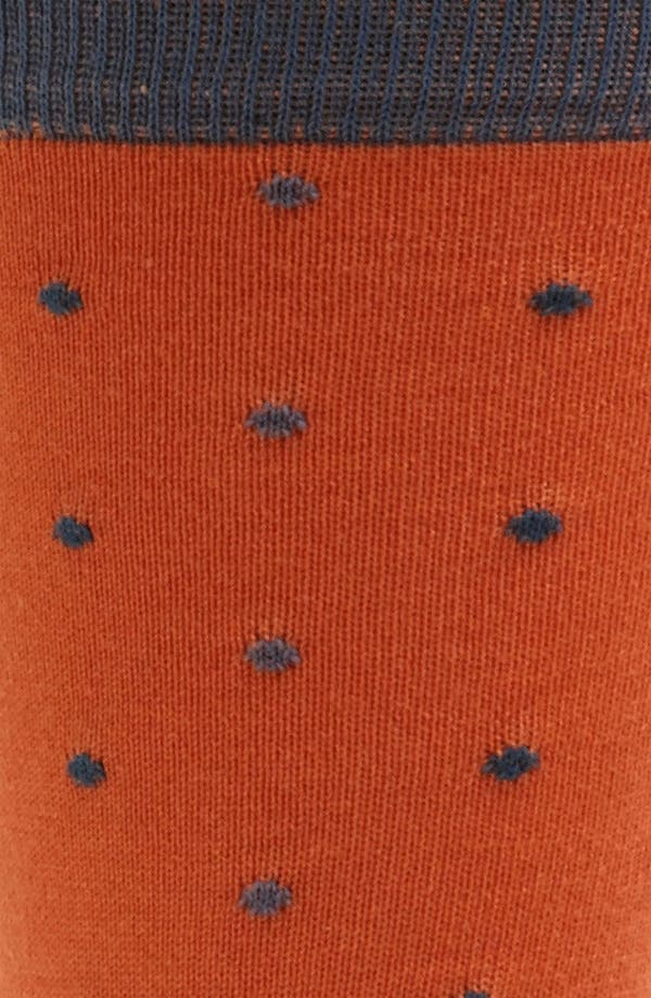 Alternate Image 2  - hook + ALBERT Multi Dot Socks