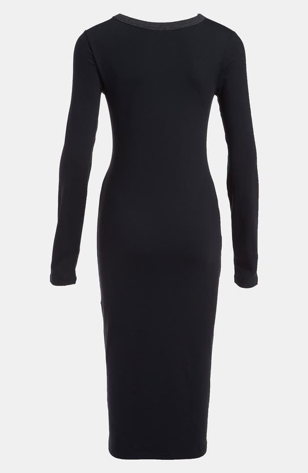 Alternate Image 2  - Leith Body-Con Midi Dress