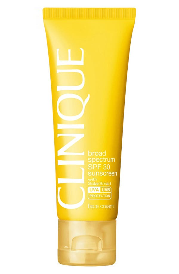 Alternate Image 1 Selected - Clinique 'Sun' Broad Spectrum SPF 30 Face Cream