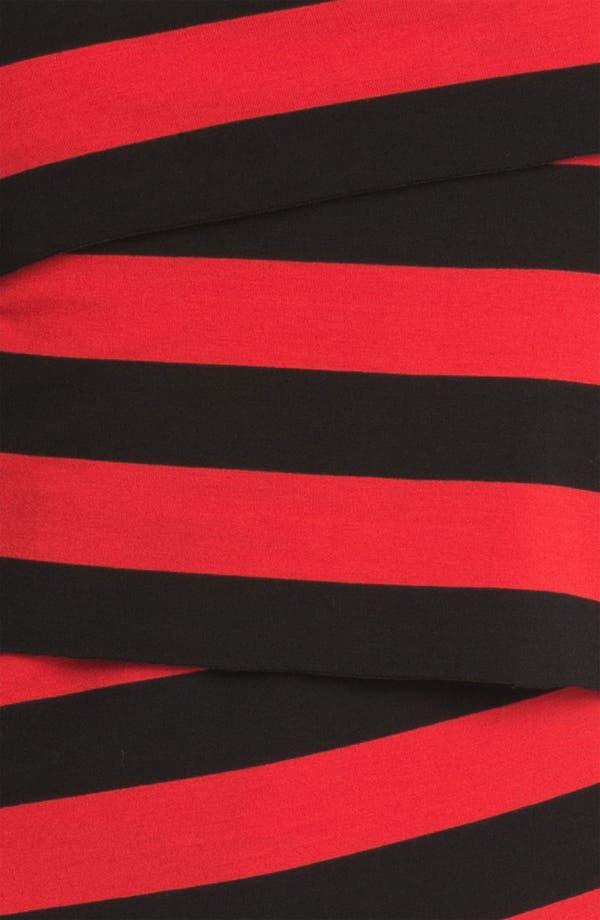 Alternate Image 3  - Vince Camuto Stripe Faux Wrap Top