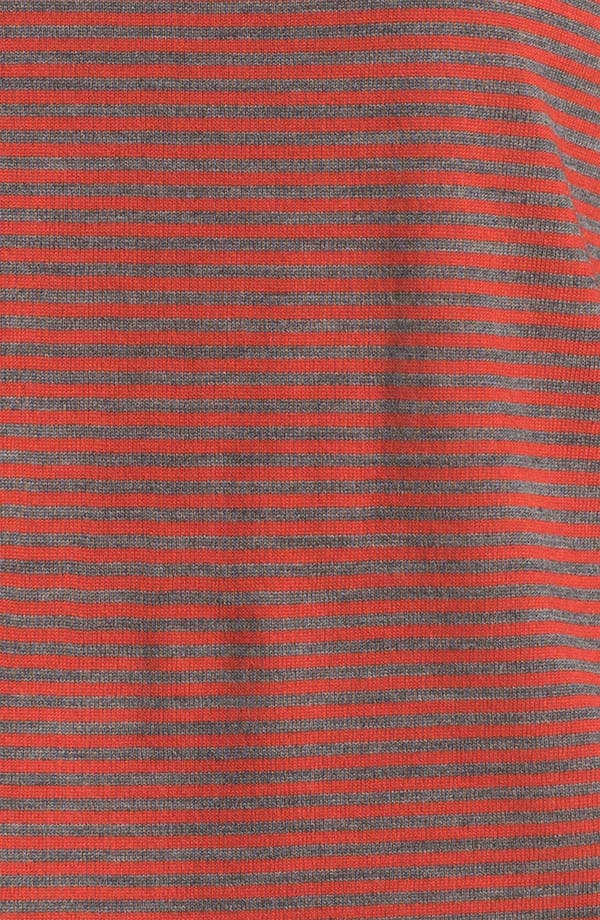 Alternate Image 3  - Eileen Fisher Stripe Fine Merino Top