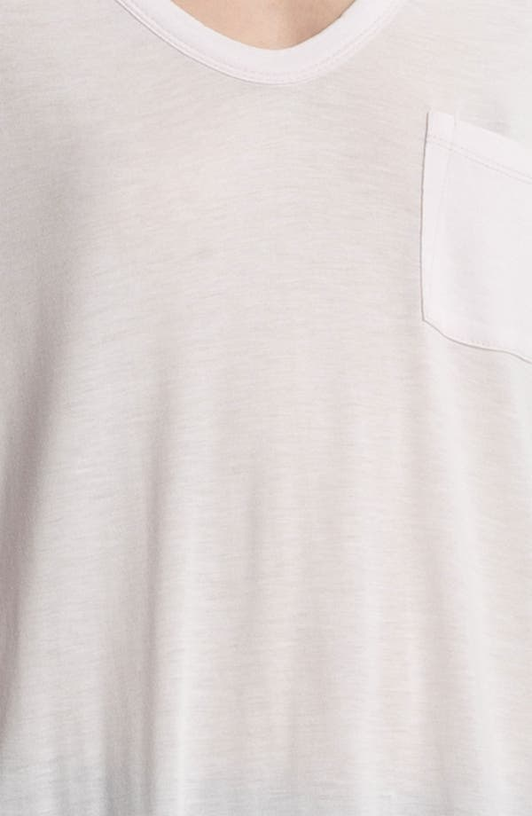 Alternate Image 5  - T by Alexander Wang Classic Pocket Tee