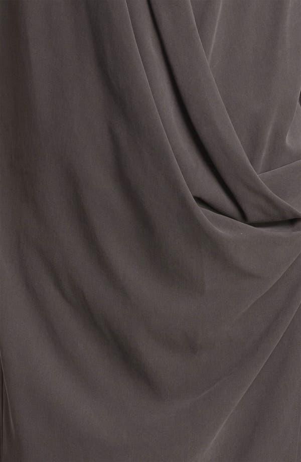 Alternate Image 3  - Halston Heritage Wrap Front Silk Dress