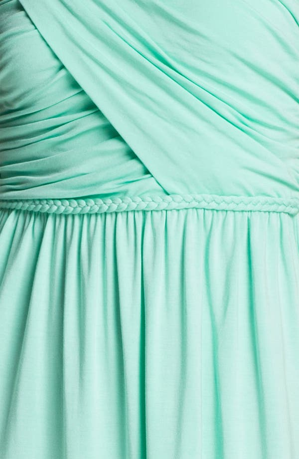Alternate Image 3  - Tart 'Faith' Strapless Ruched Jersey Dress