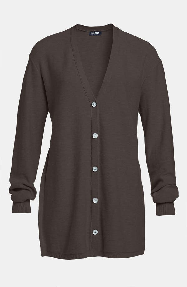 Main Image - Tildon Split Side Button Cardigan