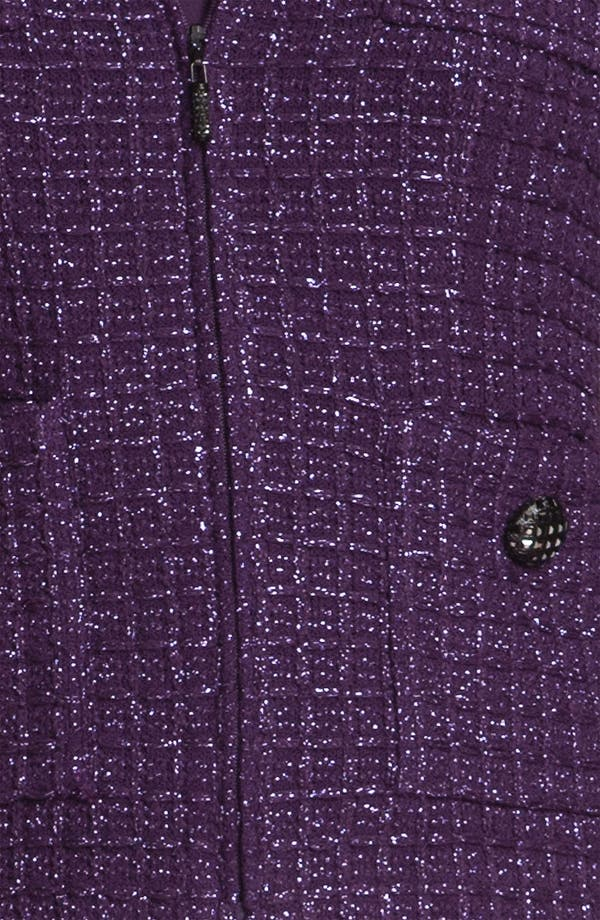 Alternate Image 5  - St. John Collection Shimmer Tweed Jacket
