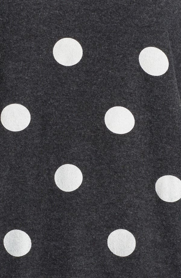 Alternate Image 3  - Wildfox Polka Dot Sweatshirt (Nordstrom Exclusive)
