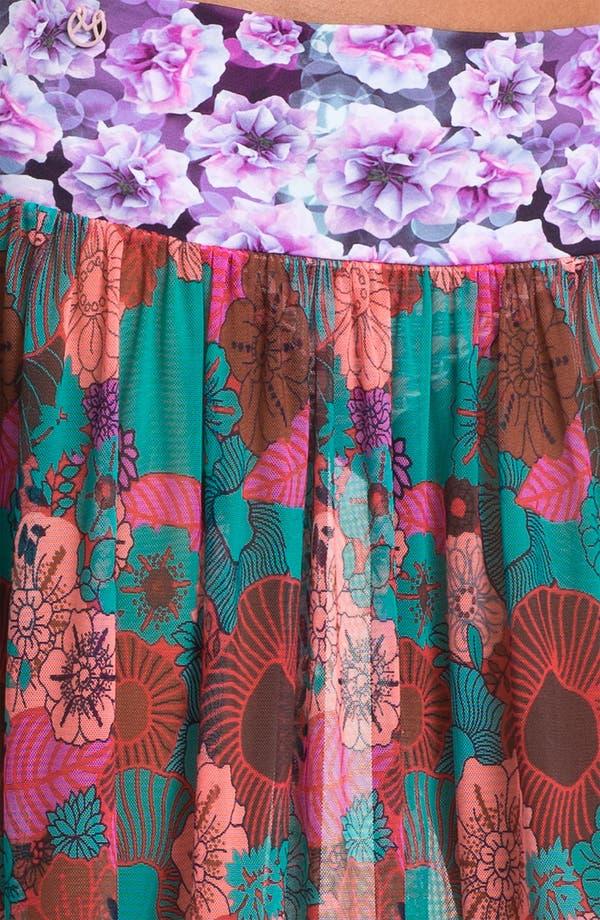 Alternate Image 3  - Maaji 'Cherry Red Glory' Skirt Cover-Up