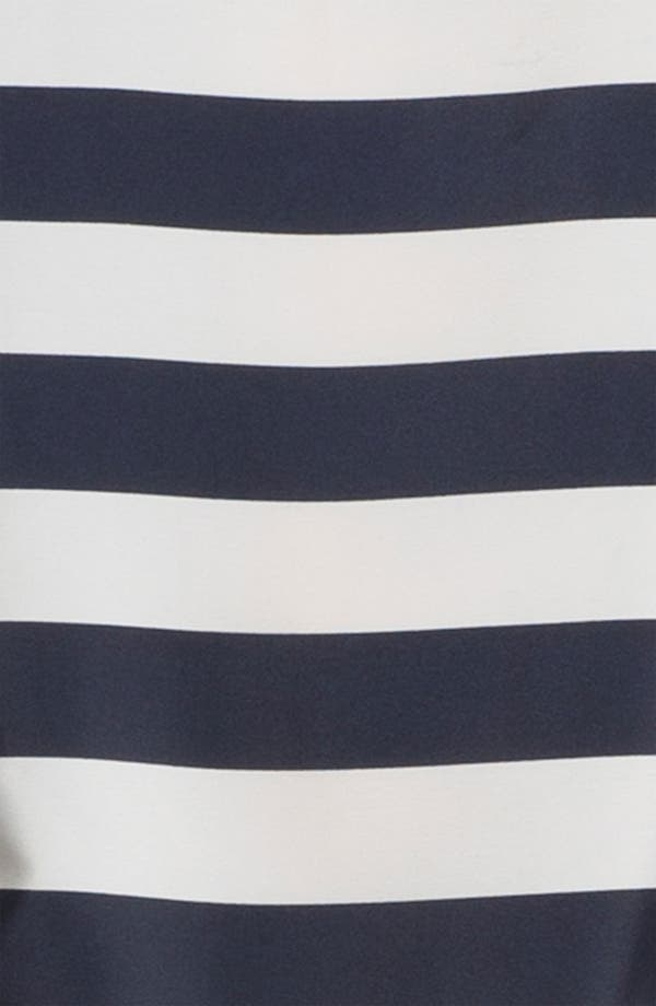 Alternate Image 3  - Press Bateau Neck Stripe Shirtdress