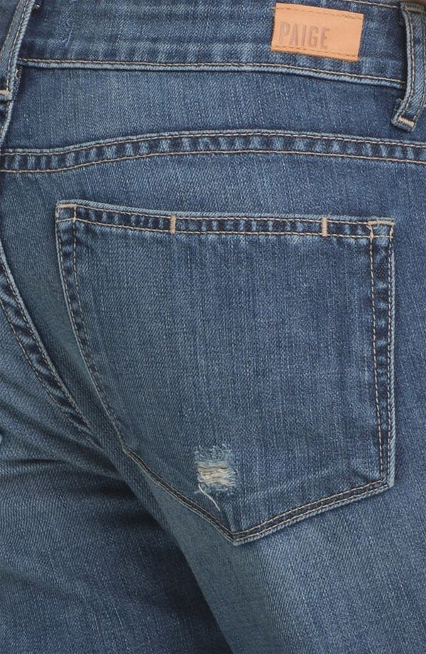 Alternate Image 3  - Paige Denim 'Jimmy Jimmy' Distressed Skinny Jeans (Riley Destruction)