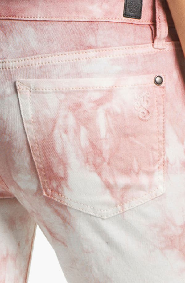Alternate Image 3  - Jessica Simpson 'Forever' Cuffed Skinny Jeans (Peach Whip) (Online Exclusive)
