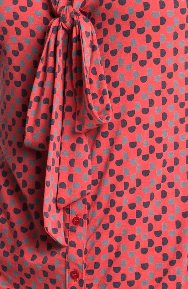 Alternate Image 3  - Halogen Tie Neck Sleeveless Knit Top (Petite)