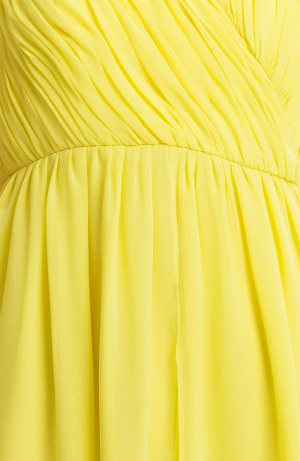 Alternate Image 3  - Donna Morgan Sweetheart Chiffon Dress