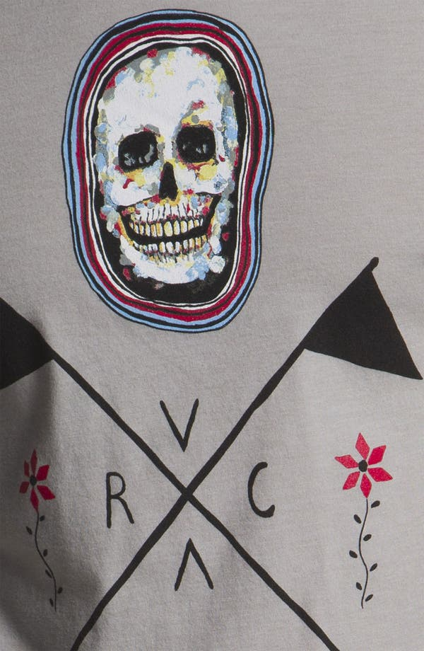 Alternate Image 3  - RVCA 'Skull Flag' T-Shirt