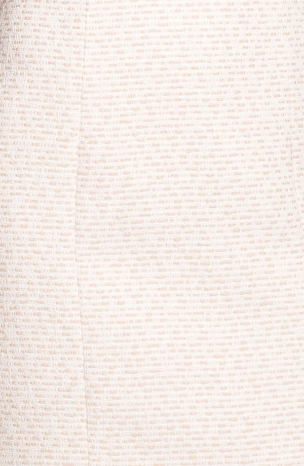 Alternate Image 3  - 4.collective Cap Sleeve Tweed Sheath Dress