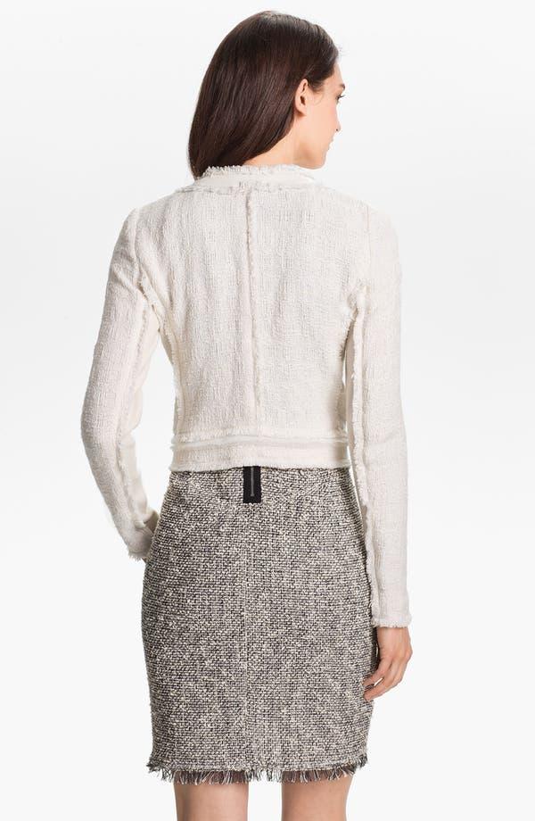 Alternate Image 2  - Rebecca Taylor Crop Tweed Jacket
